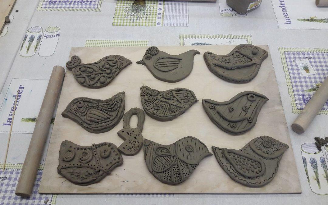 Keramikos pamoka