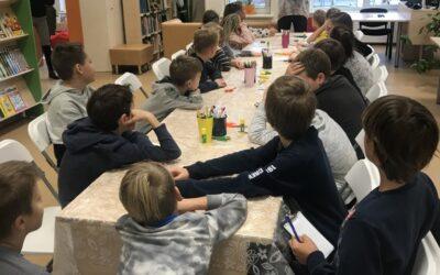 """Projektas """"Lapo pasakojimai: nuo medžio iki knygos"""" Palangos miesto savivaldybės viešojoje bibliotekoje"""