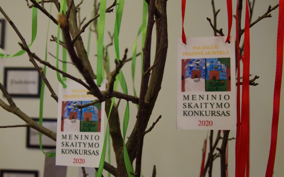 Jaunųjų skaitovų konkursas Palangos pradinėje mokykloje