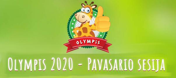 """Sveikiname Tarptautinių edukacinių konkursų """"Olympis 2020 – Pavasario sesija"""" dalyvius ir laimėtojus"""